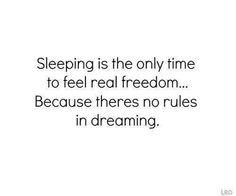 Why we love sleeping