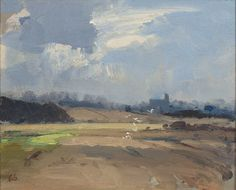 Edward Seago | Wolferton Church, Norfolk