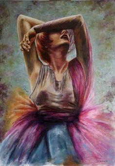 "Saatchi Art Artist Tatiana Siedlova; Painting, """"Summer's extravaganza""."" #art"