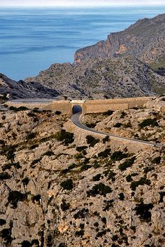 Been here! Great to see it from this angle!!!! Serra de Tramuntana, Mallorca. Spain
