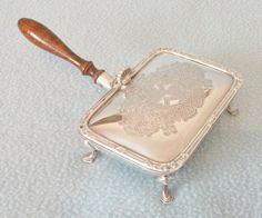 Vintage Silver Plated Silent Butler Shaped by AToasttothePast, Boodles, Cigarette Holder, Floral Theme, Vintage Silver, Butler, Silver Plate, Buy And Sell, Articles, English