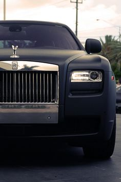 Matte Black Rolls-Royce Ghost