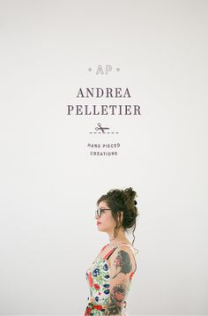 Andrea Pelletier Brand Identity and Website by One Plus One Design  |  Photography by Lani Elias Photography  |  Styling by Ashley Nicole Design
