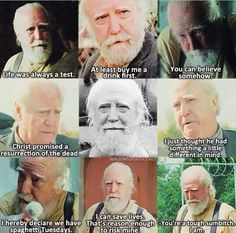 I really miss Hershel :( he was my favourite character
