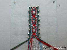 Результат плетения Bobbin Lacemaking, Lace Heart, Lace Jewelry, Lace Detail, Beaded Bracelets, School, Lace, Point Lace, Dots