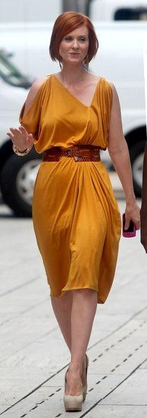 Miranda Hobbs . . . work outfit