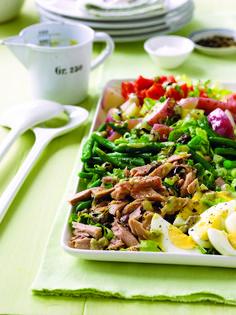 Salade Nicoise with Lemon-Olive Vinaigrette | Melissa d'Arabian
