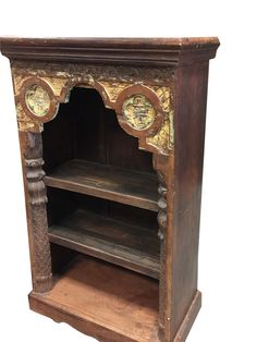Your place to buy and sell all things handmade Rustic Bookcase, Antique Bookcase, Wooden Shelves, Handmade Furniture, Rustic Furniture, Antique Furniture, Etsy Furniture, Arch Mirror, Wood Mirror