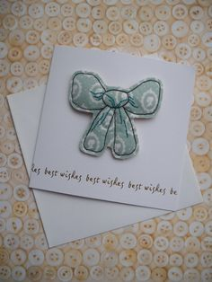 Best wishes card with a machine and hand by maxollieandme on Etsy, £6.00