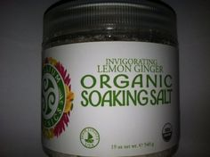 Trillium Organics Invigorating Lemon Ginger Soaking Salt 19 oz by Trillium Organic. $27.00. Relax in therapeutic healing waters in your own home.. Enjoy organic aromatherapy, avoid synthetic fragrance.. Re-mineralize the body with salts from an ancient (pre-petrol era) sea.. Trillium Organics Invigorating Lemon Ginger Soaking Salt 19 oz. Organic Soaking Salt brings the therapeutic mineral salts together with organic essential oils for a superior soothing soak. Slide into the warm...