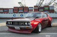 Este es el Nissan Skyline GT-R Kenmeri