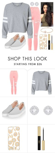 """""""616"""" by francescas22 on Polyvore featuring Topshop, Kate Spade, Yves Saint Laurent and David Yurman"""
