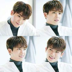 Hyungsik. In white
