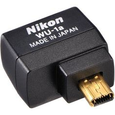 Wireless Adapter for Nikon D7100 to connect to iPhone :Nikon WU-1A: Picture 1 regular