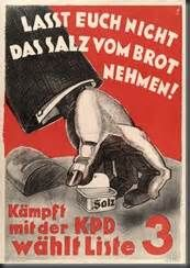 german interwar communist AD POSTER political historic COLLECTORS 24X36 #5