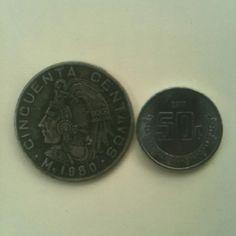50 centavos: 1980 / 2011