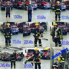 To anyone interested in the #firefighting career, especially #females. Here is an idea of how much added weight you will carry. I am 5'5, 130lbs, and 18% bodyfat. My last PT test I ran 1.5 mile in 11:02, 53x push-ups in one minute, 46x sit-ups in one minute, and 10x strict pull-ups.