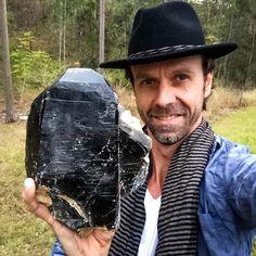 OMG....Huge Morion Smoky Quartz that was dug from the rugged granite ranges around Ewingar NSW, Australia! :) #crystaleyecandy #crystalbliss Photo & Info :Patrick Gunderson
