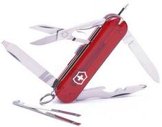 Victorinox Swiss Army Manager Pocket Knife (Red) Victorinox