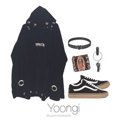 BTS Inspired [Black] by youaremorethanbeautiful on Polyvore featuring polyvore, мода, style, Ventidue, PA Design, fashion and clothing