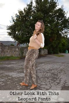 Other Look With This Leopard Pants