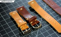 Watch straps from Throne Watches