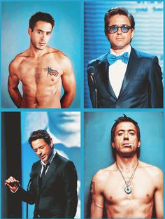 Omg!Robert Downey Jr. Get you a man who's ALL this!