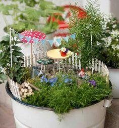 Die raumfee geldgeschenk als minigarten verpackt do it yourself pinterest geldgeschenke - Einzugsgeschenk ideen ...