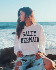 A sweatshirt for any creature whose natural habitat is saltwater. | 23 Gifts For Your Saltiest Friend