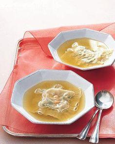 Valentine's Day Menu // Stuffed-Noodle Soup Recipe
