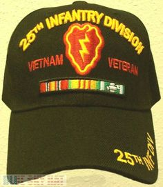 US ARMY 25TH INFANTRY DIVISION LIGHT TROPIC VIETNAM VETERAN VIET NAM VET CAP HAT #PREMIUMHATS #BaseballCap United States Army, Vietnam Veterans, Cool Hats, Us Army, Division, Lightning, Military Hats, Tropical, Baseball Caps