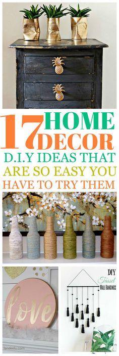 DIY Crafty Decor ideas for your home. Home Crafts, Diy And Crafts, Decor Crafts, Kitchen Set Up, Diy Home Decor Rustic, Diy Tassel, Diy Décoration, Make Money From Home, Home Decor Inspiration