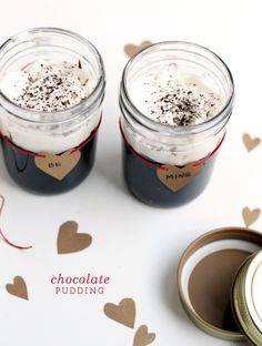 chocolate pudding for two by faux martha...lots of ingredients...sounds more complicated than the xo pudding but i'm willing to try it once