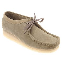 Clarks Women's Wallabee Boots and other apparel, accessories and trends. Browse and shop 5 related looks. Cheap Boutique Clothing, Womens Clothing Stores, Suede Shoes, Shoe Boots, Moccasin Boots, Clarks Boots, Boots Online, Shoe Game, Footwear
