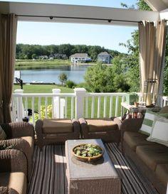 Outdoor decor/cozy