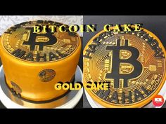How To Make Bitcoin Cake / Gold Cake With Edible Wafer Paper - YouTube Gold Cake, Wafer Paper, Cake Creations, Fondant, Cakes, Simple, Youtube, How To Make, Cake Makers