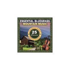 Essential Bluegrass Mountain Music: 25 Classics - Essential Bluegrass Mountain Music: 25 / Var (CD)