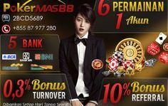 Agen poker online dengan bonus deposit besar sekarang sudah banyak ditemukan mengingat sudah banyak agen yang bersaing