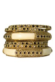 Ivory Bangle Set    Repin your fave jewelry styles for a chance to win them to keep!