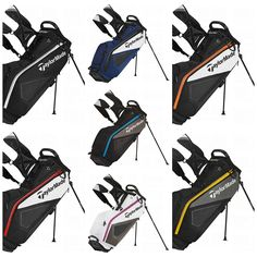 TaylorMade 2014 Purelite Stand Bag #TaylorMade #2014 #Stand Bags #Golf #TGW.com