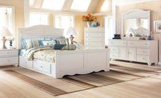 warme slaapkamer in landelijke stijl