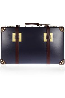 Leather-trimmed suitcase // Sophie Hulme