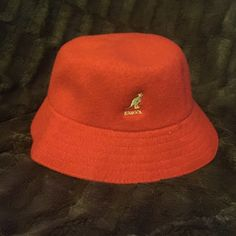 9cf76c7e2a4acb Red Kangol Bucket Hat. Red Kangol bucket hat. Size L. Price is negotiable