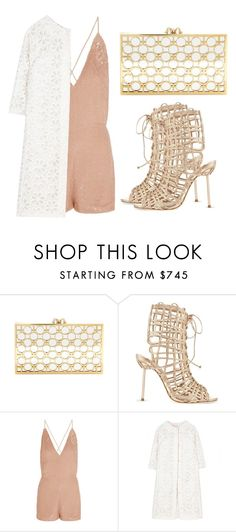 """Untitled #2746"" by evalentina92 ❤ liked on Polyvore featuring Charlotte Olympia, Sophia Webster, Valentino and Giambattista Valli"