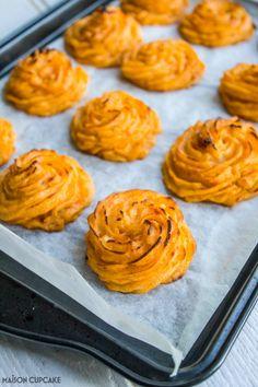 How to Make Sun Dried Tomato Duchesse Potatoes