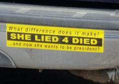 Suck bumper sticker liberals