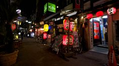 "Let's feel and experience "" THE-NIGHT-OUT of #JAPAN #.日本,居酒屋"