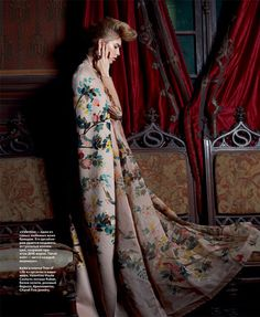 Elena Perminova in Valentino for Eric Guillemain