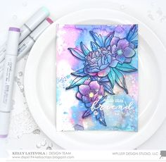 Stamp Away With Me: May 2017 Release Week: Modern Anemones with Kelly
