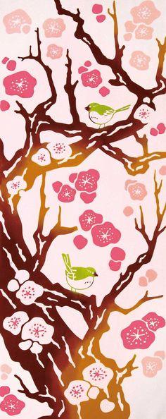 Tissu japonais de Tenugui serviettes #japan #voyage #japon #inspiration #japonais